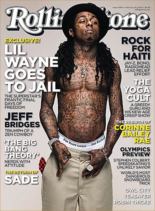 Lil Wayne & All His Tattoos Cover Rolling Stone